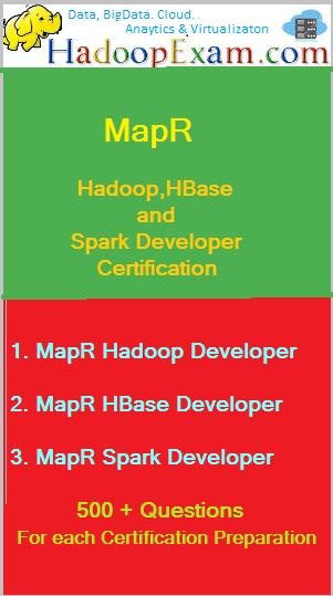 MapR Certifications